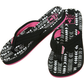 Reef Little Ahi Flips Kids, black/tribal